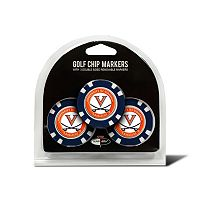 Team Golf Virginia Cavaliers 3-pack Poker Chip Ball Markers