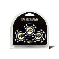 Team Golf Colorado Buffaloes 3-pack Poker Chip Ball Markers