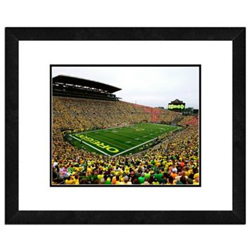 Oregon Ducks Stadium Framed 11