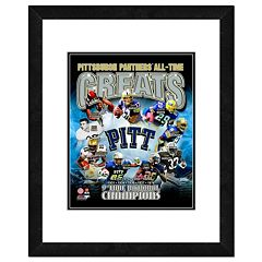 Pitt Panthers All-Time Greats Framed 11' x 14' Photo