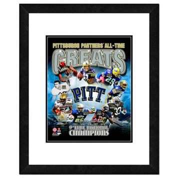 Pitt Panthers All-Time Greats Framed 11