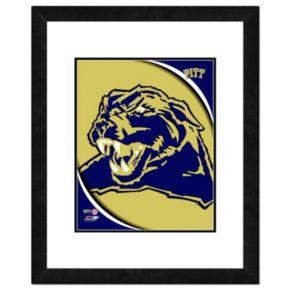 "Pitt Panthers Team Logo Framed 11"" x 14"" Photo"