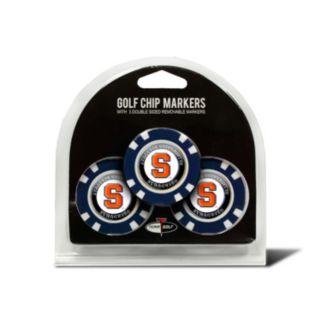 Team Golf Syracuse Orange 3-pack Poker Chip Ball Markers