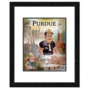 """Purdue Boilermakers Mascot Framed 11"""" x 14"""" Photo"""