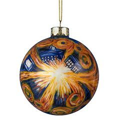 Kurt Adler Starry Night Ball Christmas Ornament