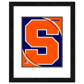 "Syracuse Orange Team Logo Framed 11"" x 14"" Photo"