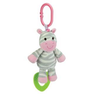 Carter's Chime & Chew Zebra Teething Toy