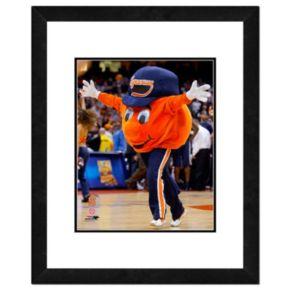 """Syracuse Orange Mascot Framed 11"""" x 14"""" Photo"""