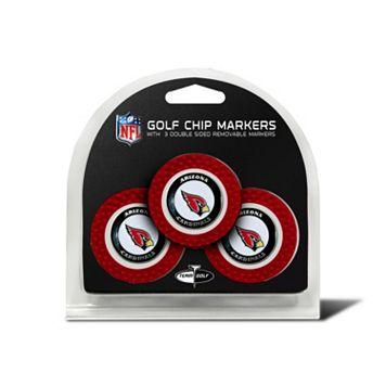 Team Golf Arizona Cardinals 3-pack Poker Chip Ball Markers