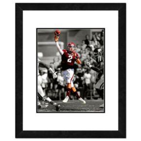 "Johnny Manziel Framed 11"" x 14"" Photo"