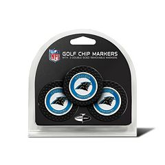 Team Golf Carolina Panthers 3-pack Poker Chip Ball Markers