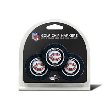 Team Golf Chicago Bears 3-pack Poker Chip Ball Markers