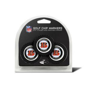 Team Golf Cincinnati Bengals 3-pack Poker Chip Ball Markers