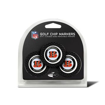 Team Golf Cincinnati Bengals 3-pack Poker Chip Ball Markers