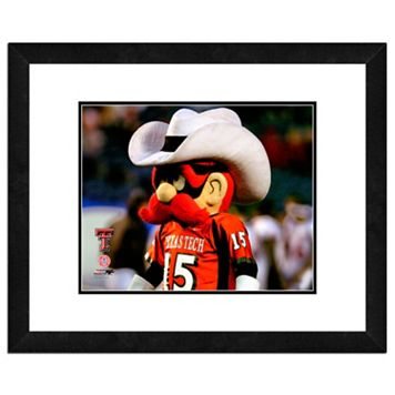 Texas Tech Red Raiders Mascot Framed 11