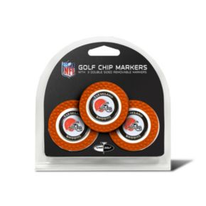 Team Golf Cleveland Browns 3-pack Poker Chip Ball Markers