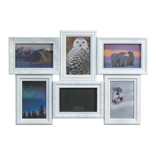 Melannco 6-Opening 4\'\' x 6\'\' Collage Frame