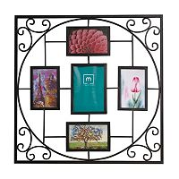 Melannco 5-Opening 4'' x 6'' Geometric Collage Frame