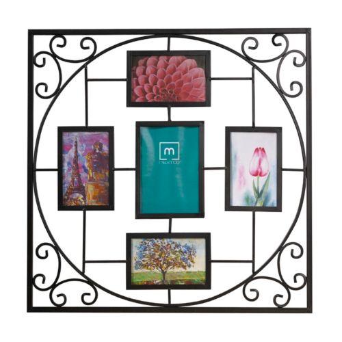 "Melannco 5-Opening 4"" x 6"" Geometric Collage Frame"