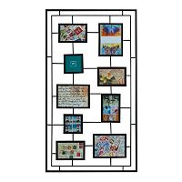 Melannco 9-Opening Geometric Collage Frame