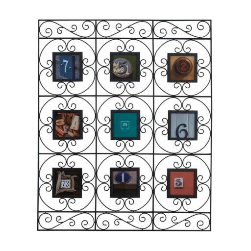 Melannco 9-Opening 4'' x 4'' Collage Frame