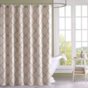 Madison Park Arroyo Fabric Shower Curtain