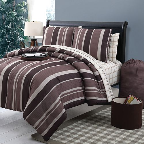 Izod Classic Stripe Bedding Collection