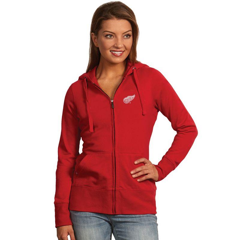Antigua Detroit Red Wings Signature Fleece Hoodie - Women's