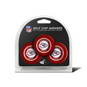 Team Golf Kansas City Chiefs 3-pack Poker Chip Ball Markers