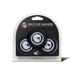 Team Golf New EnglandPatriots 3-pack Poker Chip Ball Markers