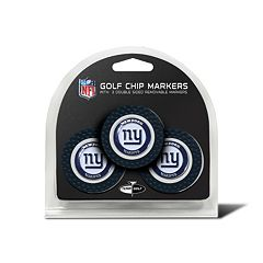 Team Golf New York Giants 3-pack Poker Chip Ball Markers