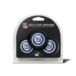 Team Golf New York Giants 3-pack Poker Chip Ball Markers