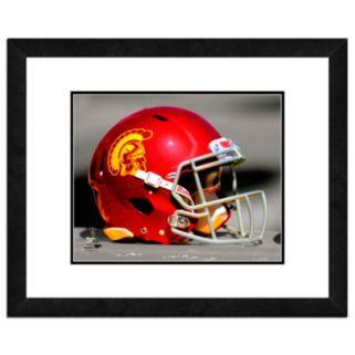 "USC Trojans Team Helmet Framed 11"" x 14"" Photo"