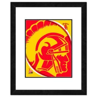 "USC Trojans Team Logo Framed 11"" x 14"" Photo"