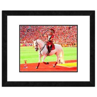 "USC Trojans Mascot Framed 11"" x 14"" Photo"