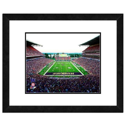 "Washington Huskies Stadium Framed 11"" x 14"" Photo"