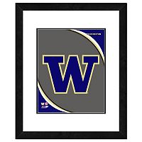 Washington Huskies Team Logo Framed 11