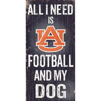 Auburn Tigers Football & My Dog Sign