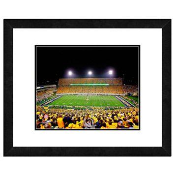 West Virginia Mountaineers Stadium Framed 11