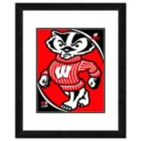 "Wisconsin Badgers Team Logo Framed 11"" x 14"" Photo"