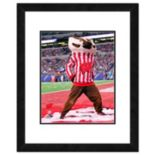 "Wisconsin Badgers Mascot Framed 11"" x 14"" Photo"