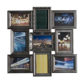 Melannco 9-Opening 4'' x 6'' Collage Frame