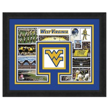 West Virginia Mountaineers Framed Milestones and Memories 11