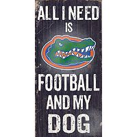 Florida Gators Football & My Dog Sign