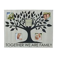 Melannco 5-Opening 3'' x 3'' Family Collage Frame