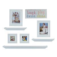 Melannco 8-piece Frame & Wall Decor Set