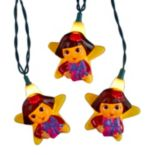 Kurt Adler Dora the Explorer 10-piece Light Set
