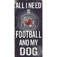 South Carolina Gamecocks Football & My Dog Sign