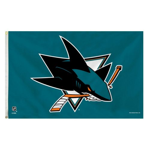 San Jose Sharks Teal Banner Flag