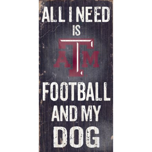 Texas A&M Aggies Football & My Dog Sign